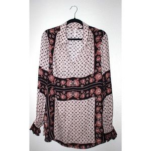 Free People Tops - Free People Changing Times Floral Print Tunic